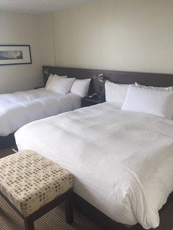 Saint Georges, Canadá: un lit queen et un lit double