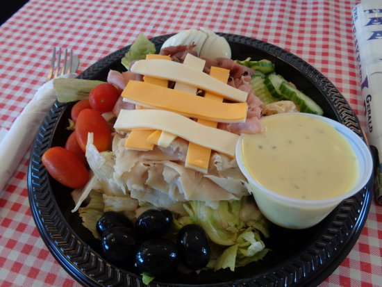 Lovelock, NV : The Chef's Salad. Fresh and filling.