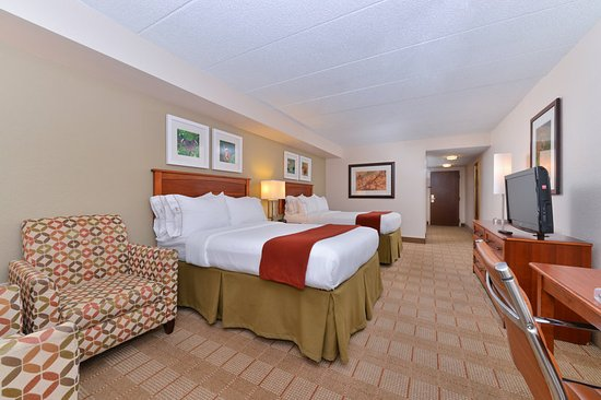 Holiday Inn Express Indianapolis Downtown City Centre: Double Bed Guest Room