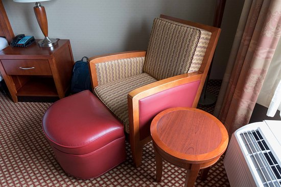 Chair and Ottoman Picture of Hilton Garden Inn Mystic Groton