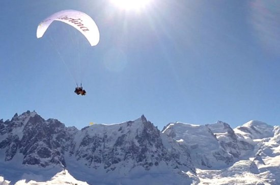 Paragliding Experience from Aiguille...
