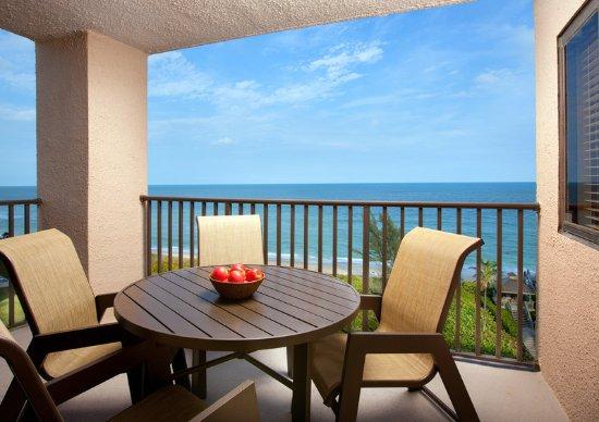 Vistana Beach Club: Balcony View - Phase 2.