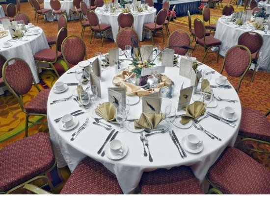Banquet Table Setup - Picture of Embassy Suites by Hilton San Marcos ...
