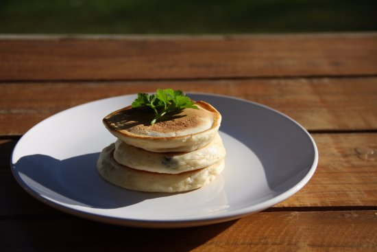 Potchefstroom, Νότια Αφρική: Delicious home-made crumpets