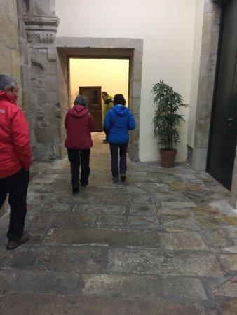 Hospederia San Martin Pinario: 玄関