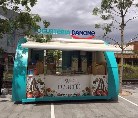 imagen Yogurtería Danone en Zaragoza