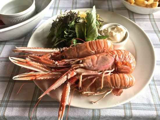 Crinan, UK: mouth watering