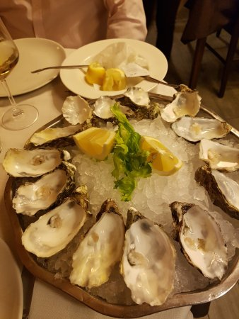 oysters were