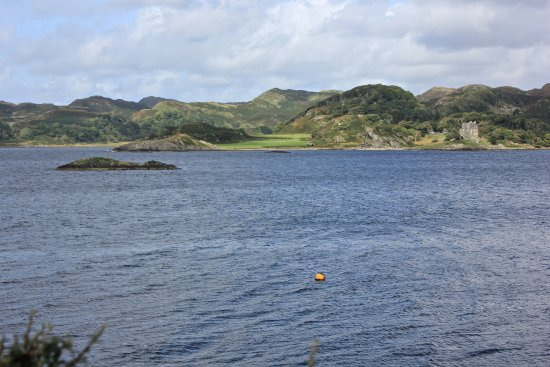 Crinan, UK: the view out towards Craignish