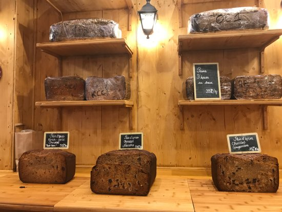 le coeur d'Alsace : Different model of spices cake