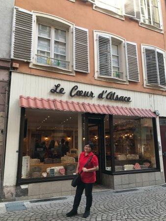 le coeur d'Alsace : The shop