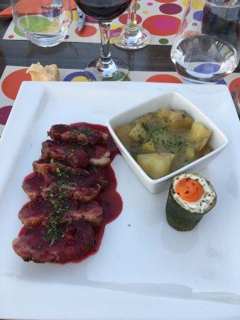 Rapale, France: anatra ai mirtilli