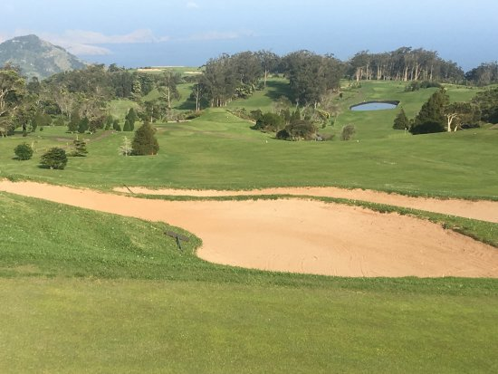 Santo da Serra Golf Club: Vue sur le parcours