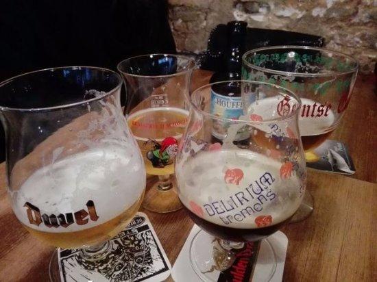 Dulle Griet: cervezas