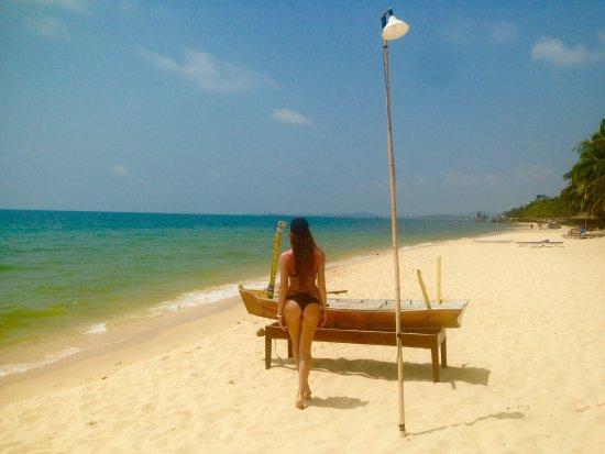 Phu Quoc Kim Bungalows On The Beach: Очень понравился отдых на острове. Приятные цены удивили. А главное, тихо и спокойно. Правда 2 н