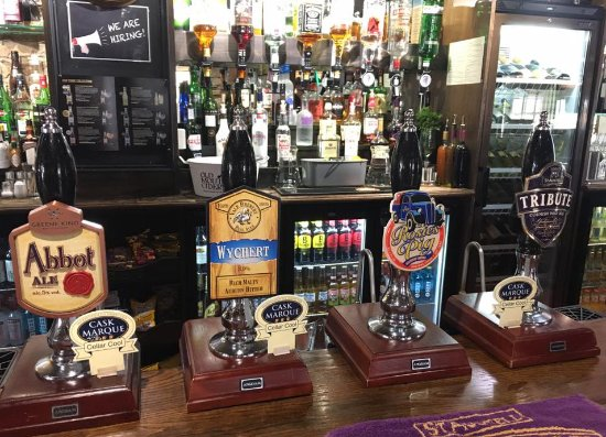 Brackley, UK: Cask Ale