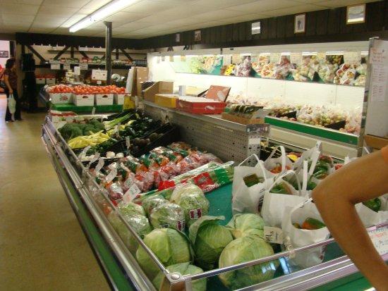 LaPorte, IN: fresh local produce on sale