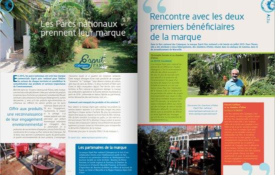 Article De Presse Photo De La Petite Calanque Marseille Tripadvisor