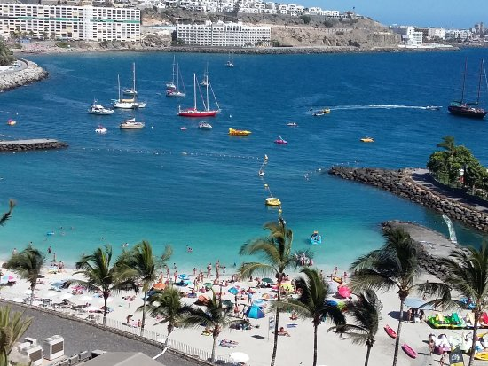 Patalavaca, España: Bella spiaggia e bel mare!