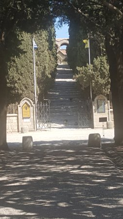 Monastery on hill at Firemos