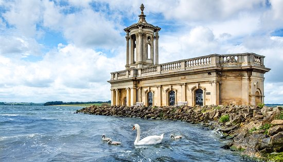 Oakham, UK: Normanton Church