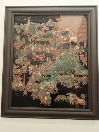 Museo de Bellas Artes (Bao Tang My Thuat): Lacquer engraving