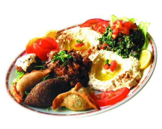 Al Fawar : Assiette découverte 8 variétés