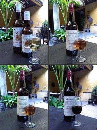 Sanlucar de Barrameda, Hiszpania: Productos: vinos secos y dulces