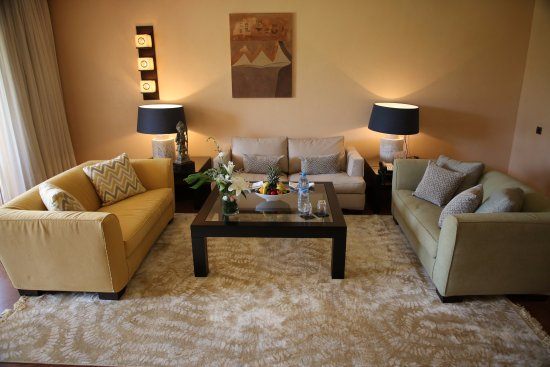 Tikida Golf Palace : salon suite prestige (120m²)