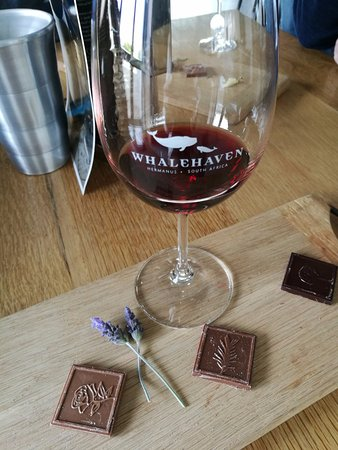 Херманус, Южная Африка: Chocolate & wine Pairing!