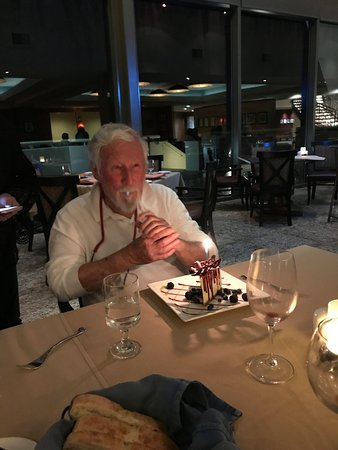 Mescalero, Nuevo Mexico: Bob's 90th Surprise Cheesecake (Thanks Alex)