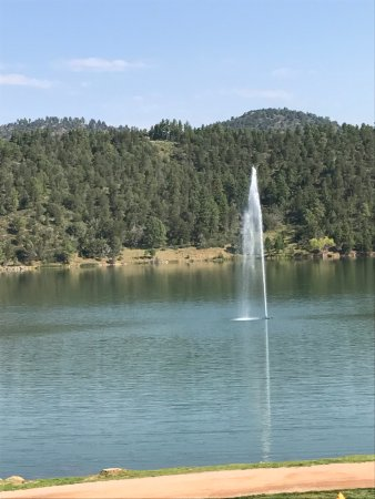 Mescalero, Nuevo Mexico: The view from Wendell's