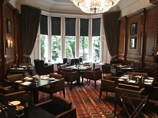 Hotel du Vin & Bistro: unused dining room