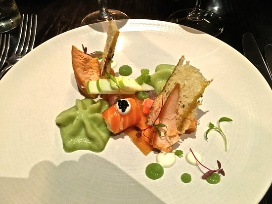 Hotel du Vin & Bistro: smoked salmon