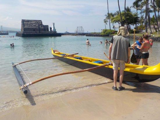 Kona Boys The Beach Shack: The Wa'a (outrigger canoe)