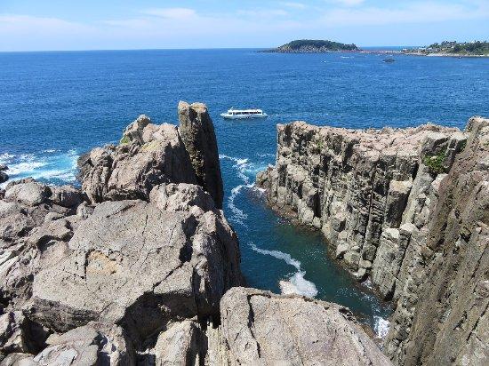 Tojinbo Cliff