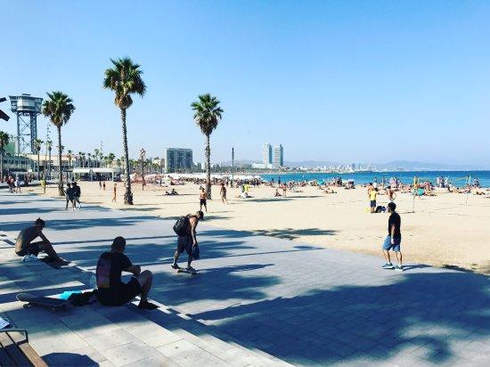 Plaja de Sant Sebastian