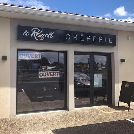 Cavignac, France : Devanture du restaurant