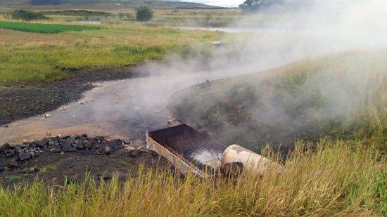 Reykholt, Islande : Un canale di scolo