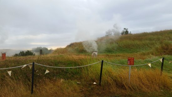 Reykholt, Island: Fumarole