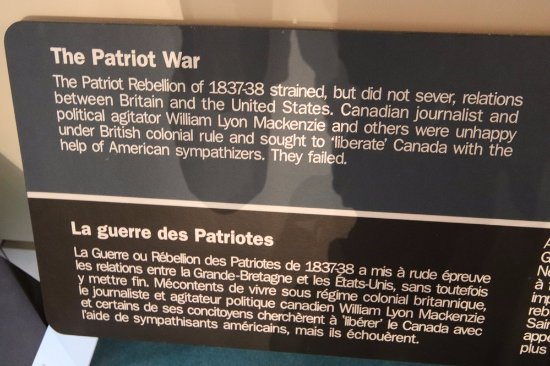 Royal Military College Museum: About the Patriot War