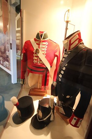 Royal Military College Museum: Military clothing