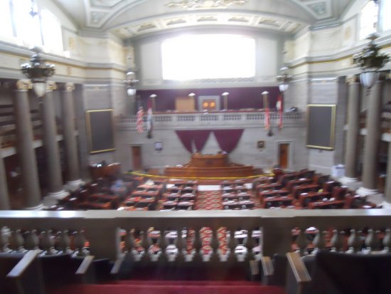 Jefferson City, MO: Senate Chamber