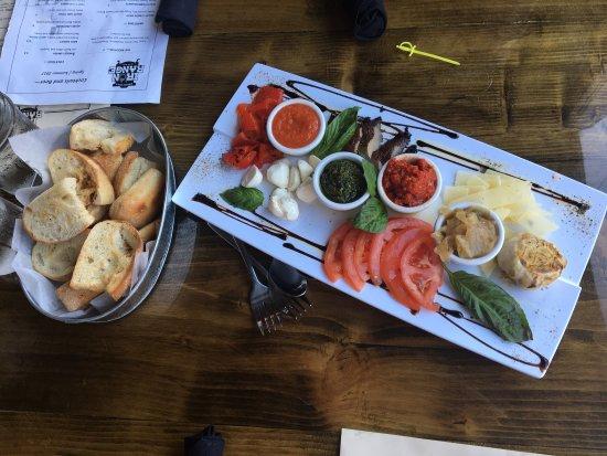 Crosby, MN: Our dinner choices!