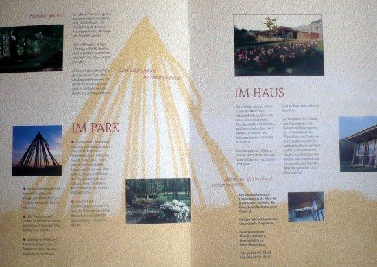 Gesundheitspark Quellenbusch: Info - Prospekt zum Gesundheitspark - Quellenbusch