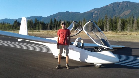 """Port Alberni, Kanada: PW6U and Nick...."""" They don't have Thermals or Views like this in Manitoba"""""""