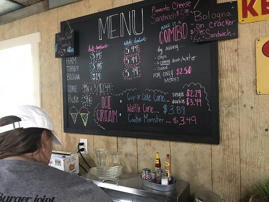 Cookeville, TN: Menu/Price