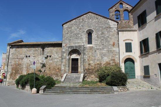Magliano in Toscana, Olaszország: Chiesa San Martino