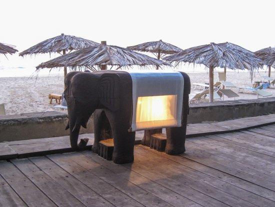 Sandoway Resort: Lampe