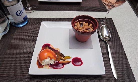 Le bouchon l 39 assiette vue de la table photo de le - Restaurant la table de l ill illkirch ...